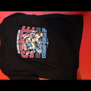 Oklahoma state championship wrestling t shirt